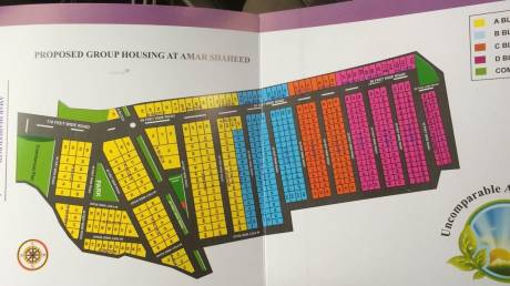 3200 sqft, Plot in Builder Friends colony amar saheed path Sushant Golf City, Lucknow at Rs. 64.0000 Lacs