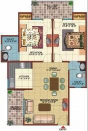 1150 sqft, 2 bhk Apartment in Vidur Brave Hearts 1 Raj Nagar Extension, Ghaziabad at Rs. 28.0000 Lacs