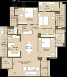 2070 sqft, 3 bhk Apartment in ABA Cleo County Sector 121, Noida at Rs. 36000