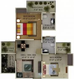 890 sqft, 2 bhk Apartment in Supertech Eco Village 1 Sector 1 Noida Extension, Greater Noida at Rs. 29.0000 Lacs