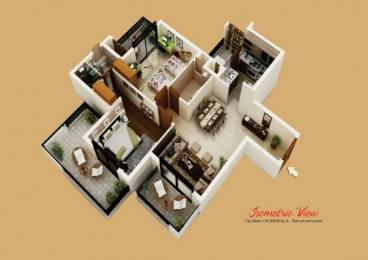 1365 sqft, 2 bhk Apartment in Assotech Blith Sector 99, Gurgaon at Rs. 75.0000 Lacs