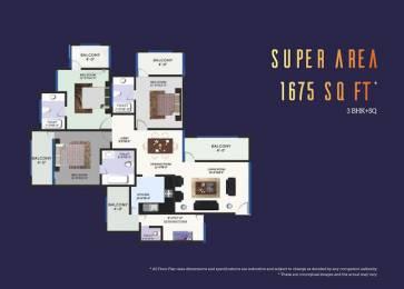 1675 sqft, 3 bhk Apartment in Builder Revanta multi state cghs revanta heights L Zone Delhi, Delhi at Rs. 52.2500 Lacs