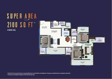 2100 sqft, 4 bhk Apartment in Builder Revanta multi state cghs revanta heights L Zone Delhi, Delhi at Rs. 67.0000 Lacs