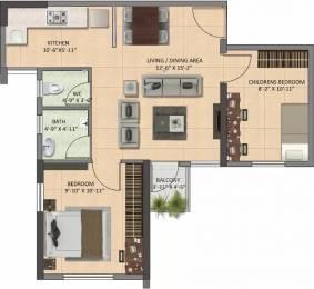 745 sqft, 2 bhk Apartment in Shapoorji Pallonji Joyville Howrah, Kolkata at Rs. 24.2125 Lacs