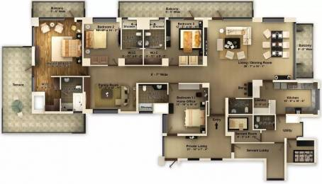 4983 sqft, 4 bhk Apartment in Pioneer Araya Sector 62, Gurgaon at Rs. 4.4847 Cr