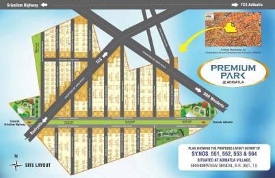 2250 sqft, Plot in Srika Premium Park Adibatla, Hyderabad at Rs. 27.0000 Lacs