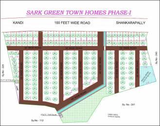 1800 sqft, Plot in Builder sark green town homes at shankarpally Shankarpally Road, Hyderabad at Rs. 18.0000 Lacs