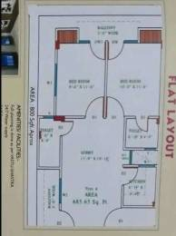 800 sqft, 2 bhk Apartment in Builder Project Alambagh, Lucknow at Rs. 36.5000 Lacs
