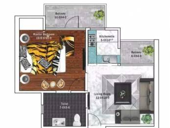 410 sqft, 1 bhk Apartment in Builder shrivinayak awas yojna L Zone Dwarka Phase 2 Delhi, Delhi at Rs. 15.5800 Lacs