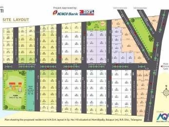 1800 sqft, Plot in Builder Kohinoor Avian City Jalpally Road, Hyderabad at Rs. 17.9980 Lacs