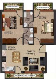 1098 sqft, 2 bhk Apartment in Builder Milenio Floors Sector 116 Mohali, Mohali at Rs. 25.9000 Lacs