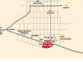 2700 sqft, Plot in Builder Project Sector 108 Mohali, Mohali at Rs. 42.0000 Lacs