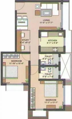 1200 sqft, 2 bhk Apartment in Dev Orchid Andheri West, Mumbai at Rs. 2.5550 Cr