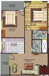 910 sqft, 2 bhk Apartment in Aman Aman Park Rau, Indore at Rs. 19.1825 Lacs