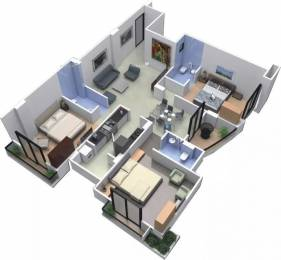 1126 sqft, 3 bhk Apartment in Shikhar Balaji Skyz AB Bypass Road, Indore at Rs. 37.1580 Lacs
