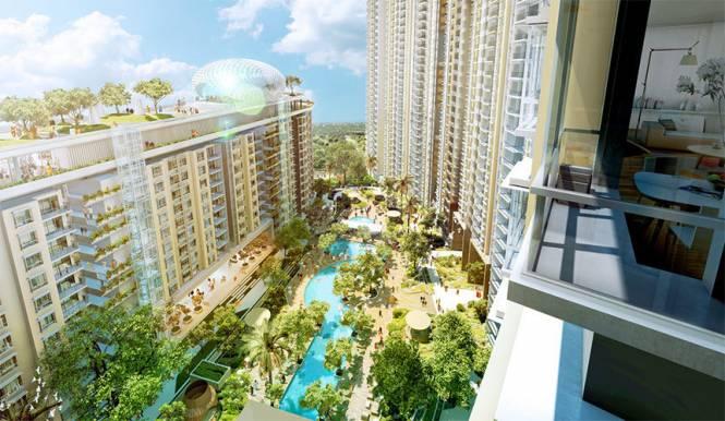 956 sqft, 2 bhk Apartment in Bhartiya City Builders Nikoo Homes Thanisandra, Bangalore at Rs. 17000