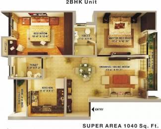 1040 sqft, 2 bhk Apartment in Shri Radha Vintage Pali Khera, Mathura at Rs. 22.0000 Lacs