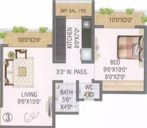 650 sqft, 1 bhk Apartment in Salangpur Salasar Aarpan Mira Road East, Mumbai at Rs. 46.0000 Lacs