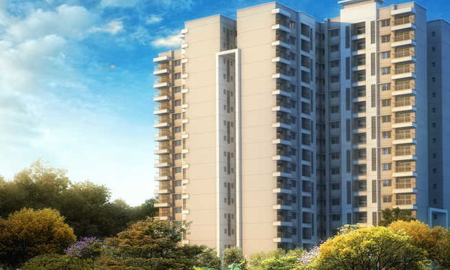 1153 sqft, 2 bhk Apartment in Builder Purva Skydale Sarjapur Road, Bangalore at Rs. 82.7320 Lacs