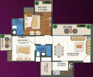 1115 sqft, 2 bhk Apartment in DSD Novena Green Techzone 4, Greater Noida at Rs. 34.5986 Lacs