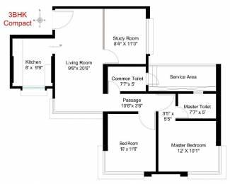 1345 sqft, 3 bhk Apartment in Builder Ready2move Dadar West, Mumbai at Rs. 3.6500 Cr