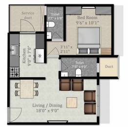 559 sqft, 1 bhk Apartment in Builder RDYBY2020 Byculla, Mumbai at Rs. 1.1000 Cr