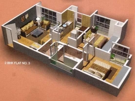 918 sqft, 2 bhk Apartment in Rajaram Sukur Enclave Thane West, Mumbai at Rs. 86.0000 Lacs