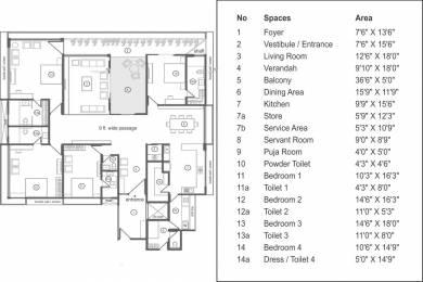 4525 sqft, 4 bhk Apartment in Sun Evoq Bodakdev, Ahmedabad at Rs. 3.5000 Cr