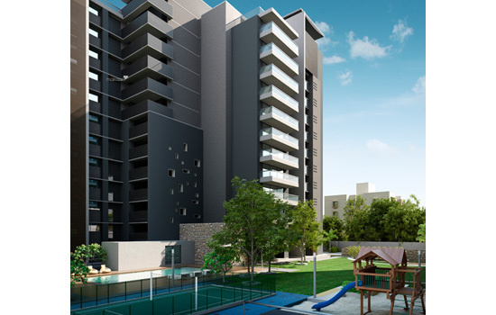 3915 sqft, 4 bhk Apartment in Nishant Ratnaakar BeauMonde Jodhpur Village, Ahmedabad at Rs. 3.2000 Cr