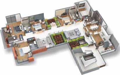 5030 sqft, 5 bhk Apartment in Rajyash Richmond Ambli, Ahmedabad at Rs. 2.7500 Cr