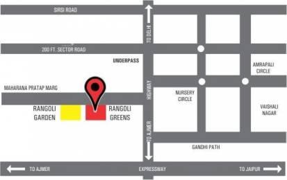 1981 sqft, 3 bhk Apartment in Manglam Rangoli Greens Panchyawala, Jaipur at Rs. 67.3540 Lacs