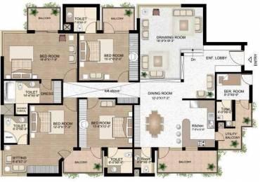 2943 sqft, 4 bhk Apartment in Raheja Atlantis Sector 31, Gurgaon at Rs. 65000