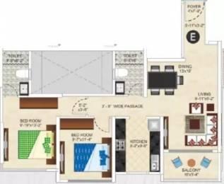 1185 sqft, 2 bhk Apartment in Ideal Ideal Heights Sealdah, Kolkata at Rs. 27000