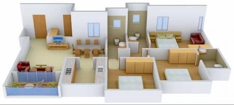 1605 sqft, 3 bhk Apartment in Ideal Ideal Heights Sealdah, Kolkata at Rs. 35000