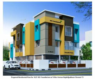 1000 sqft, 2 bhk Apartment in Builder Project East Tambaram, Chennai at Rs. 42.0000 Lacs