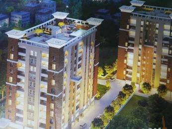 1022 sqft, 3 bhk Apartment in Merlin Next Behala, Kolkata at Rs. 63.3000 Lacs