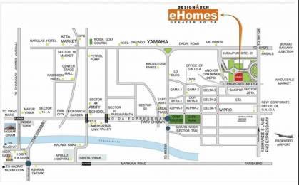 2025 sqft, 4 bhk Apartment in Designarch Gardenia e Homes Sector 5 Vaishali, Ghaziabad at Rs. 1.7500 Cr
