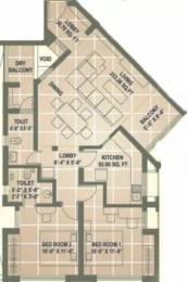 1246 sqft, 2 bhk Apartment in Pataskar Eclat Thane West, Mumbai at Rs. 1.5500 Cr