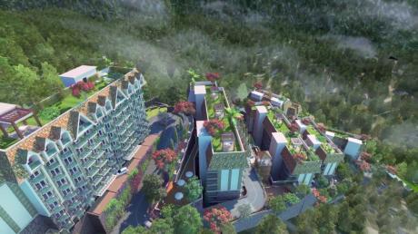 880 sqft, 2 bhk Apartment in Builder Sushma elementa Kasauli, Solan at Rs. 44.9000 Lacs