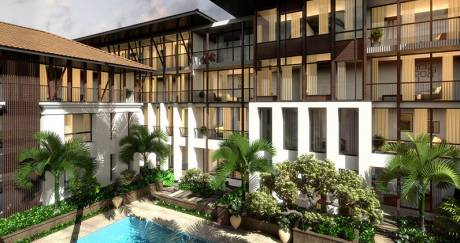 850 sqft, 1 bhk Apartment in Builder BEACH SIDE 1 BR FLATS Candolim, Goa at Rs. 90.0000 Lacs