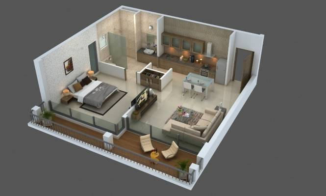 1182 sqft, 2 bhk Apartment in Builder Project Candolim, Goa at Rs. 1.3700 Cr
