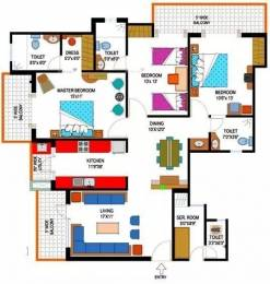 1785 sqft, 3 bhk Apartment in Amrapali Eden Park Sector 50, Noida at Rs. 25000