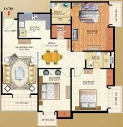 1575 sqft, 3 bhk Apartment in Mahagun Maple Sector 50, Noida at Rs. 1.0000 Cr