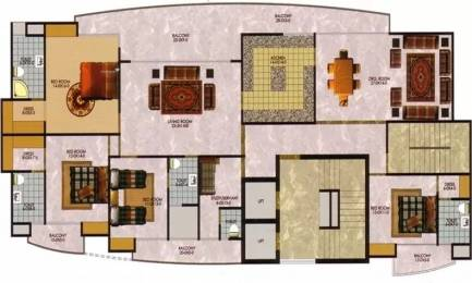3735 sqft, 4 bhk Apartment in The Antriksh Greens Sector 50, Noida at Rs. 2.4000 Cr
