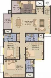 1660 sqft, 3 bhk Apartment in Sobha Forest View Talaghattapura, Bangalore at Rs. 27000