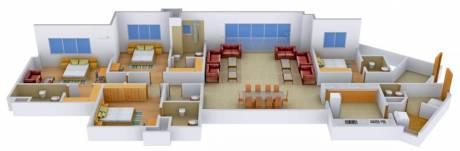 3595 sqft, 4 bhk Apartment in Mantri Pinnacle Hulimavu, Bangalore at Rs. 80000