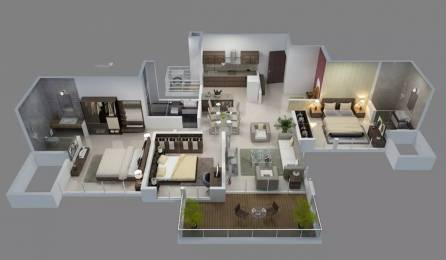 1470 sqft, 3 bhk Apartment in Goel Ganga Ganga Florentina Ph I NIBM Annex Mohammadwadi, Pune at Rs. 99.0000 Lacs