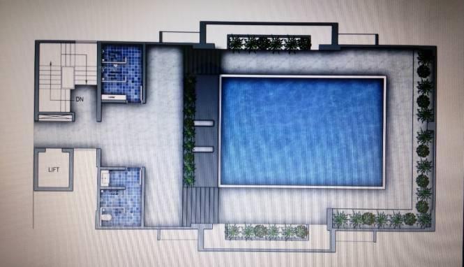 614 sqft, 1 bhk Apartment in VTP One Kharadi, Pune at Rs. 43.0000 Lacs