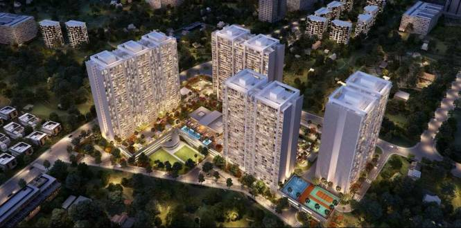 2293 sqft, 3 bhk Apartment in Panchshil Towers Kharadi, Pune at Rs. 2.2000 Cr