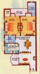 1198 sqft, 2 bhk Apartment in Jaipuria Sunrise Greens Apartment Ahinsa Khand 1, Ghaziabad at Rs. 18000